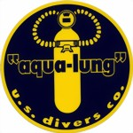 Aqua Lung U.S. Divers - decal sticker Aufkleber