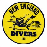 New England Divers - decal sticker Aufkleber