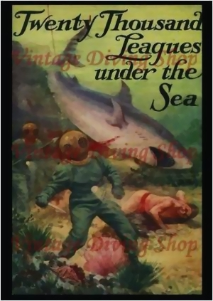 Twenty Thousand Leagues Under the Sea by Jules Verne around 1932 No.1