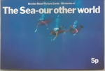 U.K. Brooke Bond Tea Album and all Chromo Cards - The Sea - our other world - complete set of 50