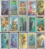 U.K. Brooke Bond Tea Cards - The Sea - our other world - complete set of 50 Chromo Cards