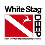 White Stag Deep - decal sticker Aufkleber