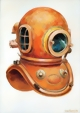 6-bold, Admiralty Pattern Diving Helmet, Siebe Goreman & Co. Ltd., early 1900`s