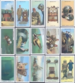 Victoria Gallery Chromo Cards - Deep Sea Diving - complete set of 50 - 1997