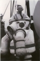 Diver in a German Neufeldt-Kuhnke diving suit made in 1923