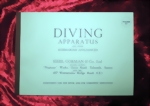 Siebe Gorman & Co. Ltd. Diving Apparatus and other Submarine Appliances - D4 - Catalog Diving Helmets c1930 - 1940 (Repro)
