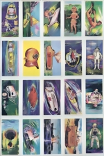 Anglo American Chewing Gum Ltd, UK - Cards - Chromo - UNDERWATER ADVENTURE - complete set of 40
